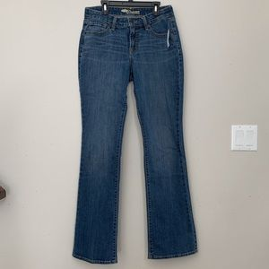 Bootcut 5 Pocket Mid Rise Jeans